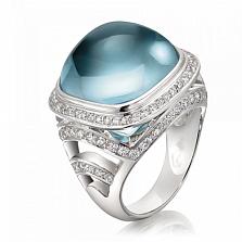 Кольцо Argile-Z с топазом и бриллиантами
