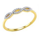 Кольцо из золота с бриллиантами Фанни