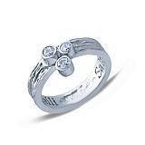 Серебряное кольцо Валенсия
