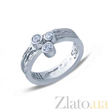 Серебряное кольцо Валенсия AQA--АНТ 002б