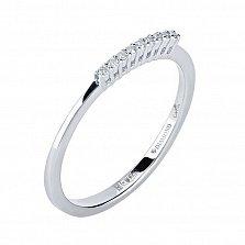 Серебряное кольцо Энрика с бриллиантами