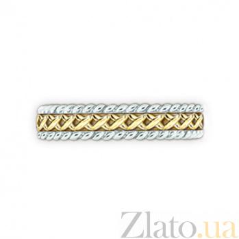 Кольцо из комбинированного золота Центр вечных сил 000029730