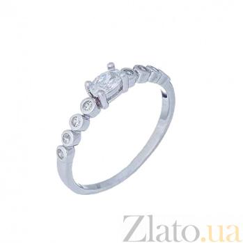 Кольцо из серебра с цирконом  AQA--XJT-0117-R