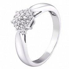 Серебряное кольцо Каролина
