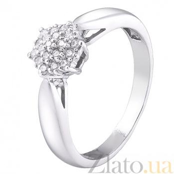 Серебряное кольцо Каролина 161079