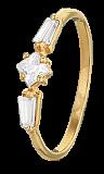 Серебряное кольцо с фианитами Тонкий вкус