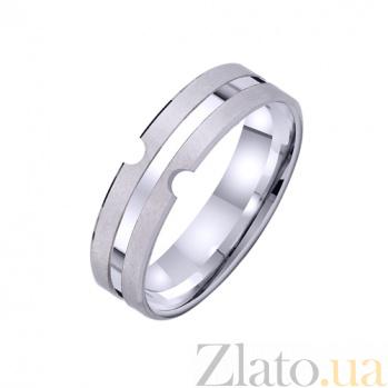 Золотое обручальное кольцо Rose TRF--421334