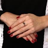 Кольцо из золота с сапфирами и бриллиантами Элиза