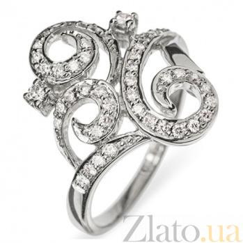 Золотое кольцо с бриллиантами Фантазия R0010
