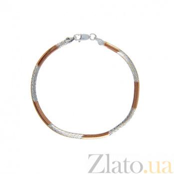 Позолоченный браслет Снейк AQA--824А/7