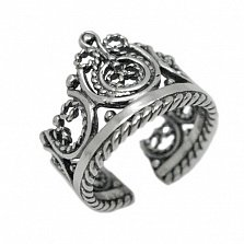 Серебряное кольцо Принцесса