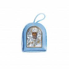 Серебряная икона Хранитель