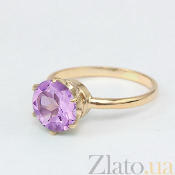 Золотое кольцо с аметистом Корнелиа VLN--112-1369-4