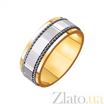 Золотое обручальное кольцо Благополучный брак TRF--4411541