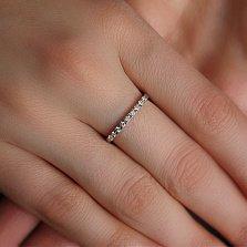 Золотое кольцо с бриллиантами Андреа
