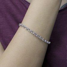 Серебряный браслет Фанданго, 3,5 мм