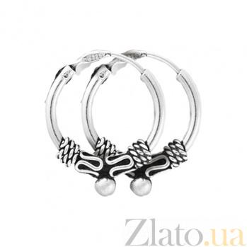 Серебряные серьги Джагфария SLX--С5/310