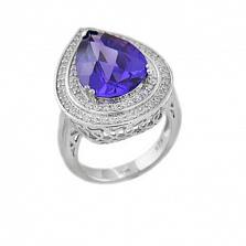 Серебряное кольцо Ария с кубическим цирконием