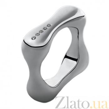 Серебряное кольцо с бриллиантами Da Vinci 79100599