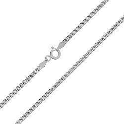 Серебряная цепь с родием, 2,5 мм 000027758