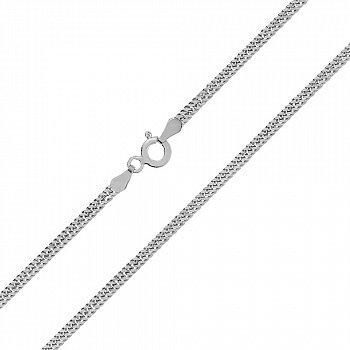 Срібний ланцюг з родієм, 2,5 мм 000027758
