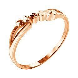 Серебряное кольцо с позолотой 000039570