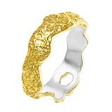 Серебряное кольцо в позолоте Астарта