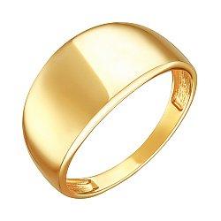 Кольцо из желтого золота Аделия в стиле бохо
