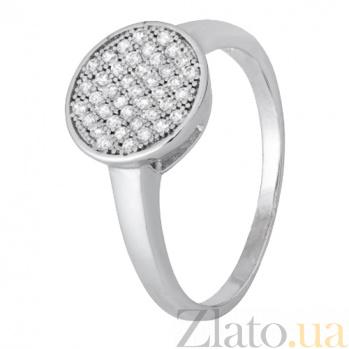 Серебряное кольцо с фианитами Айбике 000028284
