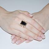 Серебряное кольцо Астра с авантюрином