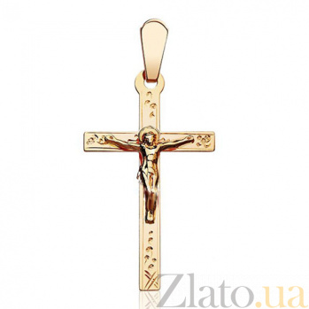 Классический крестик с распятием Иисус EDM--КР061