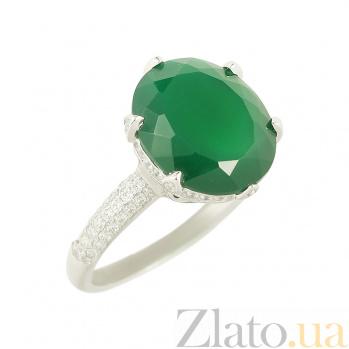 Серебряное кольцо Чародейка 3К846-0415
