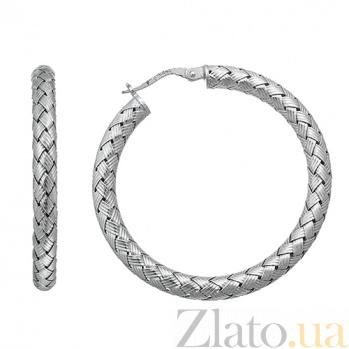Серебрянные серьги Метида 10030177