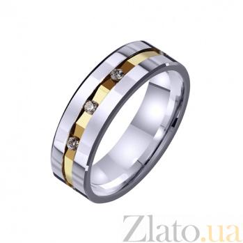 Золотое обручальное кольцо Семейная идиллия TRF--4421456