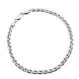 Серебряный браслет Бремен, 21 см, 2,5 мм
