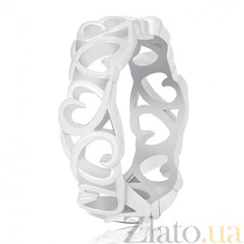 Серебряное кольцо LoveLand 000030900