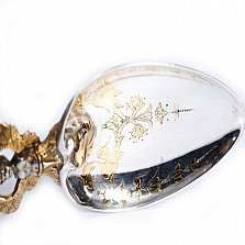 Серебряная столовая ложка Готика