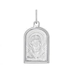 Серебряная ладанка Божия Матерь Семистрельная 000141134