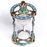 Серебряные песочные часы Эдем