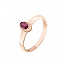 Золотое кольцо Василина с рубином