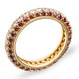 Золотое кольцо с бриллиантами Ливадия