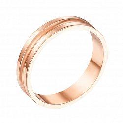 Обручальное кольцо из красного золота 000000369