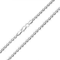Серебряная цепь с чернением, 3,5мм 000044182