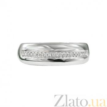 Золотое кольцо с бриллиантами Теплые чувства 000026872