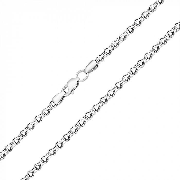 Серебряная цепь Орунд с чернением, 3,5мм 000044182