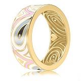 Золотое обручальное кольцо Талисман: Гармонии