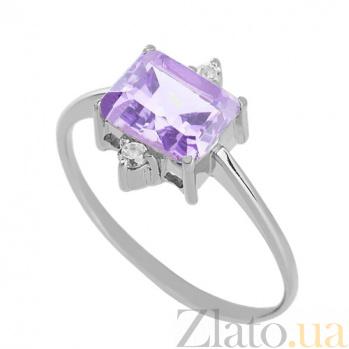 Золотое кольцо с аметистом Мадлен VLN--112-943-4*