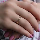 Золотое обручальное кольцо Be-loved