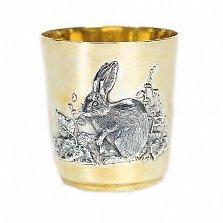 Серебряный стакан Кролик