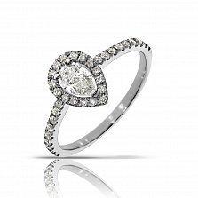 Кольцо из белого золота Свитта с бриллиантами